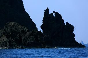 奇岩 父島の写真素材 [FYI03221849]