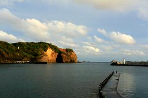 沖港 母島の写真素材 [FYI03221892]
