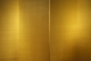 市立安江金箔工芸館の金屏風の写真素材 [FYI03222544]