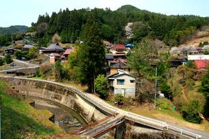 春の野迫川村の写真素材 [FYI03223150]