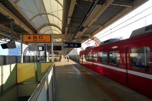 午後の京急蒲田駅の写真素材 [FYI03223165]