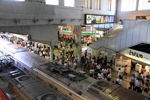 京浜急行の品川駅の写真素材 [FYI03223172]