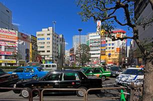 JR蒲田駅の西口の写真素材 [FYI03223182]