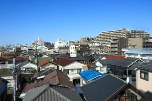 大田区蒲田周辺の家並の写真素材 [FYI03223195]