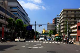 国道1号線の区間通称第二京浜の写真素材 [FYI03223214]