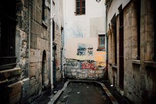 パリの行き止まりの写真素材 [FYI03223889]