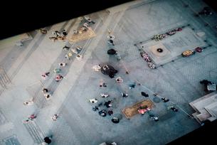 エトワール凱旋門内のモニターの写真素材 [FYI03223959]
