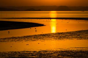 加布里の夕陽の写真素材 [FYI03224102]