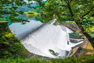 白水ダムの写真素材 [FYI03224118]