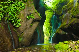 由布川峡谷の写真素材 [FYI03224123]