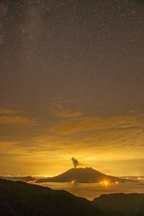 桜島の噴火の写真素材 [FYI03224144]