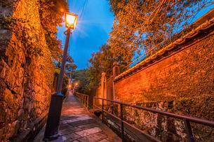 長崎のドンドン坂の写真素材 [FYI03224175]