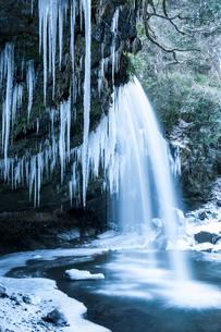 凍った鍋ヶ滝の写真素材 [FYI03224198]