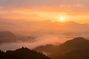 高千穂の雲海の写真素材 [FYI03224213]