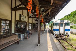 肥薩線大隅横川駅の写真素材 [FYI03224301]