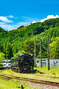 JR九州はやとの風1の写真素材 [FYI03224312]