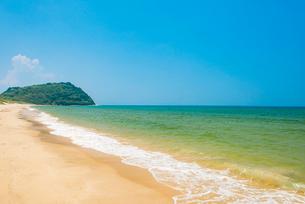 姉子の浜(鳴き砂)2の写真素材 [FYI03224329]