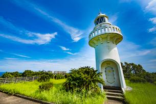 細島灯台の写真素材 [FYI03224334]