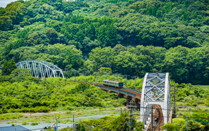 耳川鉄橋5の写真素材 [FYI03224338]