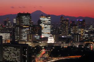 丸ビルより望む永田町方面の写真素材 [FYI03224447]
