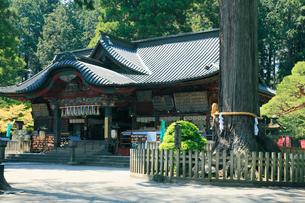 北口本宮富士浅間神社 拝殿の写真素材 [FYI03224551]
