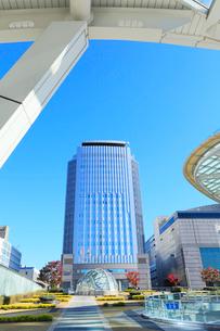オアシス21よりNHK名古屋放送センタ-ビルの写真素材 [FYI03224707]
