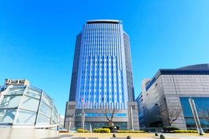 オアシス21よりNHK名古屋放送センタ-ビルの写真素材 [FYI03224742]