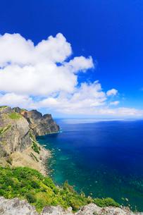 小笠原諸島父島・展望台から千尋岩方向を望むの写真素材 [FYI03224863]