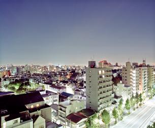 東京の夜景 門前仲町にての写真素材 [FYI03224938]