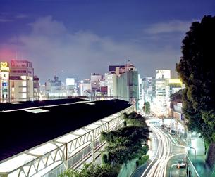 東京の夜景 上野の写真素材 [FYI03224942]