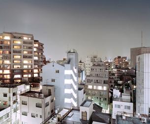 門前仲町の夜景の写真素材 [FYI03224945]