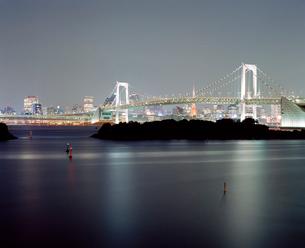 東京の風景 お台場の夜の写真素材 [FYI03224949]