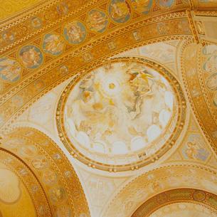 教会の天井の写真素材 [FYI03225278]