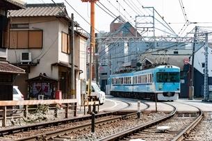 京阪石山坂本線2の写真素材 [FYI03225446]