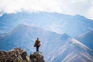 ペルー・ウルバンバの先住民ケチュア族の写真素材 [FYI03225625]