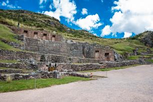 クスコ近郊のタンボ・マチャイ遺跡の写真素材 [FYI03226008]