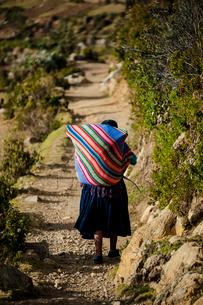 アンデスの先住民 アイマラ族の写真素材 [FYI03226183]