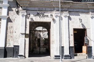 アレキパの歴史地区の街並みの写真素材 [FYI03226203]