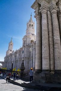 アレキパの大聖堂・カテドラルの写真素材 [FYI03226205]