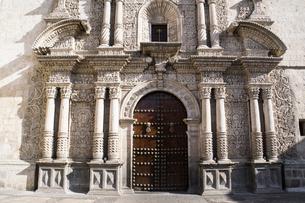 ラ コンパニーア デ ヘスス教会(アレキパ)の写真素材 [FYI03226209]