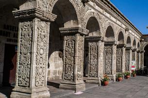 ラ コンパニーア デ ヘスス教会(アレキパ)の写真素材 [FYI03226210]