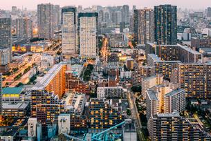 東京 江東区豊洲の都市景観の写真素材 [FYI03226633]