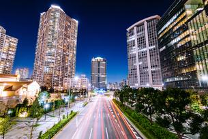 東京 江東区豊洲の夜景の写真素材 [FYI03226635]