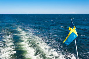 オーランド諸島からストックホルムへのクルージングの写真素材 [FYI03226667]