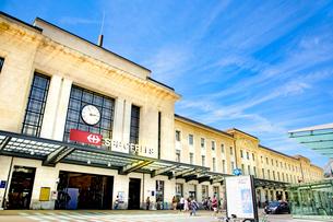 ジュネーブのコルナヴァン駅の写真素材 [FYI03226688]