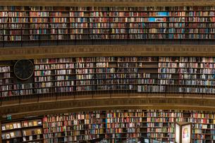 ストックホルム市立図書館の写真素材 [FYI03226704]