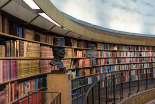 ストックホルム市立図書館の写真素材 [FYI03226720]