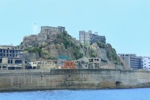 長崎 軍艦島の写真素材 [FYI03226782]