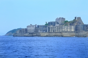 長崎 軍艦島の写真素材 [FYI03226786]