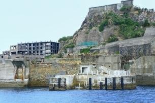 長崎 軍艦島の写真素材 [FYI03226788]
